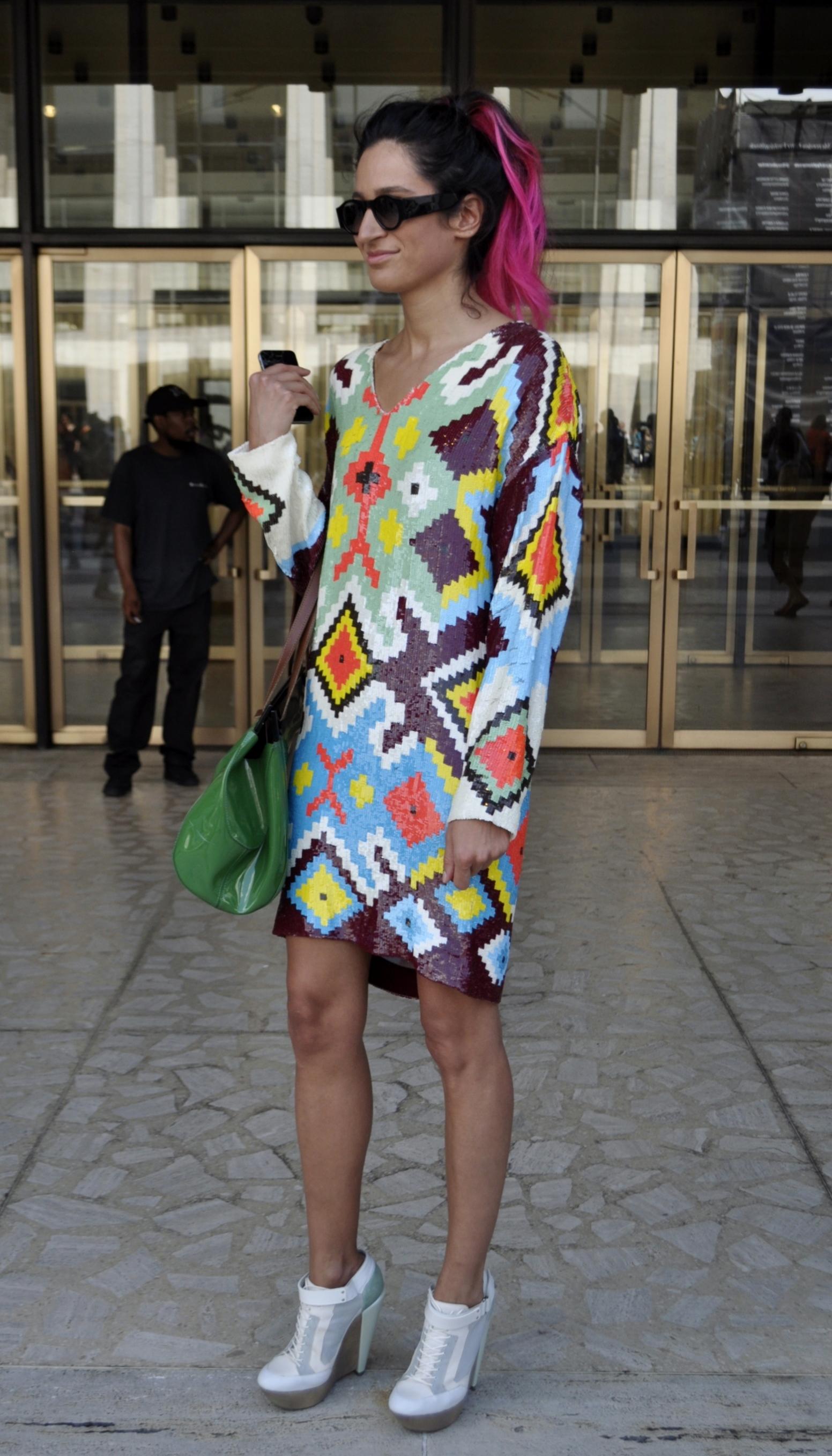 New York Fashion Week Spring Summer 2013 Street Style Trends Tribulations
