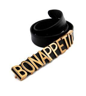 Bon Appetit Belt, $248