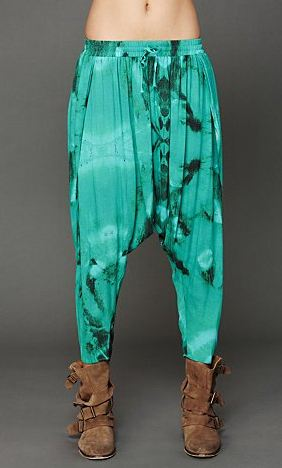 One Teaspoon Tie Dye Harem Pants, $148