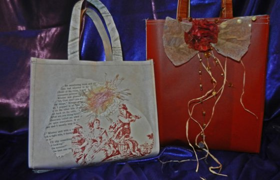 Victorian Paper Gift Bags, $5.50