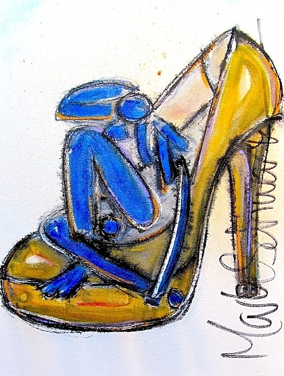 matisse in his shoe