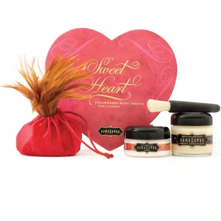 Kama Sutra Strawberry Sweet Heart Box, $35