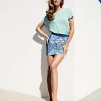 Frida Gustavsson Models for H&M's Spring Stylebook