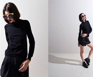 An editorial featuring their shades from the OakNYC pre-fall edition