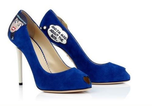 Betty & Veronica Pumps, $1,095, Charlotte Olympia