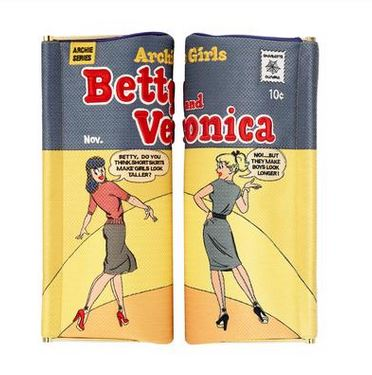 Betty & Veronica Clutch, $1,595, Charlotte Olympia