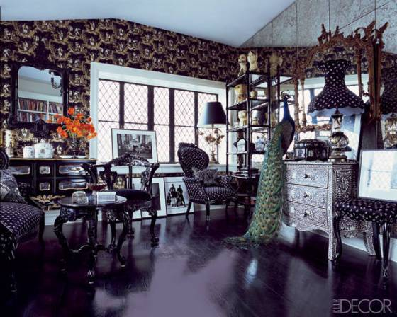 Would you expect anything less from Anna Sui's apartment in Greenwich Village?