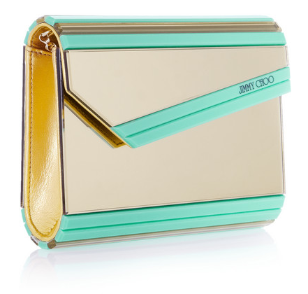 Jimmy Choo Candy Acrylic Clutch, $875