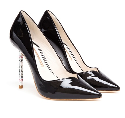 Sophia Webster Lyla Patent Leather Killer Pumps, $587.63