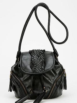 Kimchi Blue Tassel Bucket Bag, $54