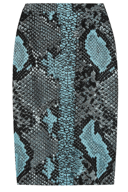 Antonio Berardi python-jacquard pencil skirt, now $381