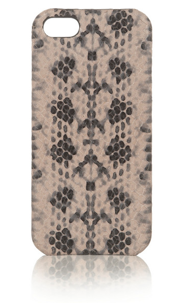 The Case Factory Snake-effect leather iPhone 5 case, $150