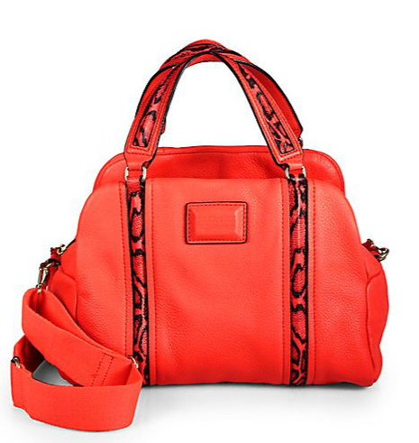 Marc by Marc Jacobs Leather Satchel, $478