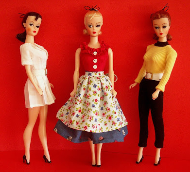 Bild Lilli, Cartoon Character turned doll, & predecessor to Barbie