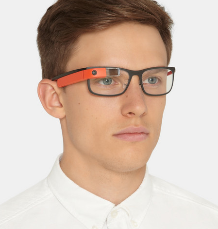 Men's Google Glass