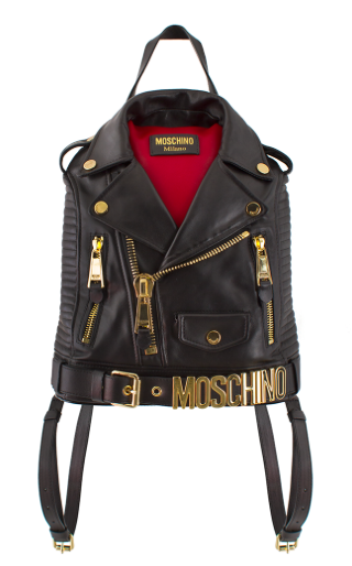 Moschino Moto Jacket Backpack, $2295