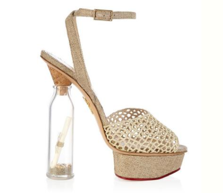 Charlotte Olympia SOS Heels, $811