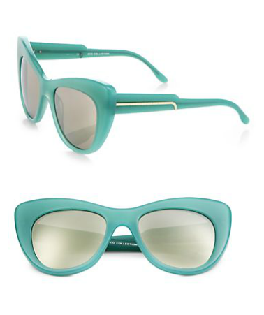 Stella McCartney Cat's-Eye Sunglasses, $300