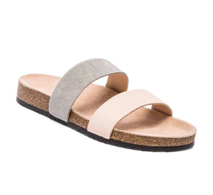 Loeffler Randall Paz Sandal with Calf Fur, $150