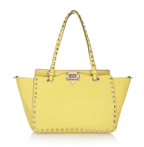 Valentino The Rockstud small leather trapeze bag, $1,995