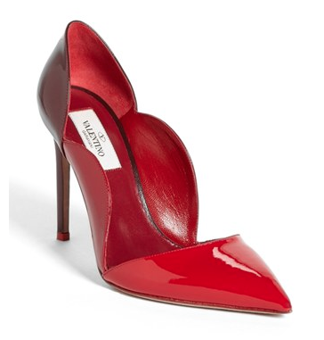 Valentino Scalloped Pump, $895