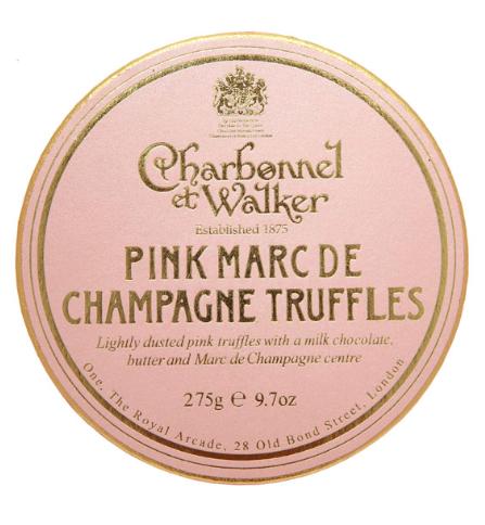 Charbonnel Et Walker Pink Marc De Champagne Truffles, $28