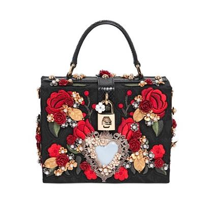 Dolce & Gabbana Embellished Brocade Dolce Bag, $6,995