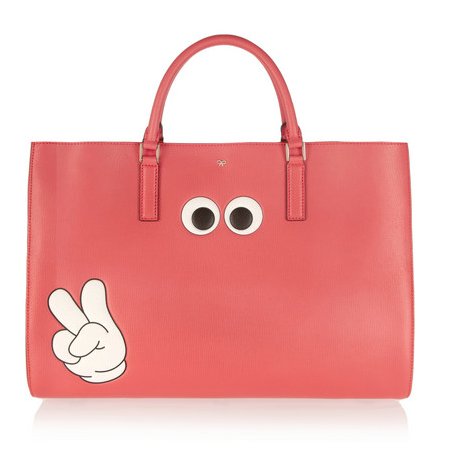 Anya Hindmarch Victory Ebury Maxi textured-leather tote, $2,250