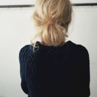Hair How-To: The Low Messy Bun