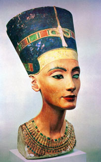 Nefertiti, the ancient Egyptian queen