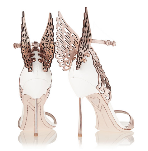 SOPHIA WEBSTER 'Evangeline' sandals, $560