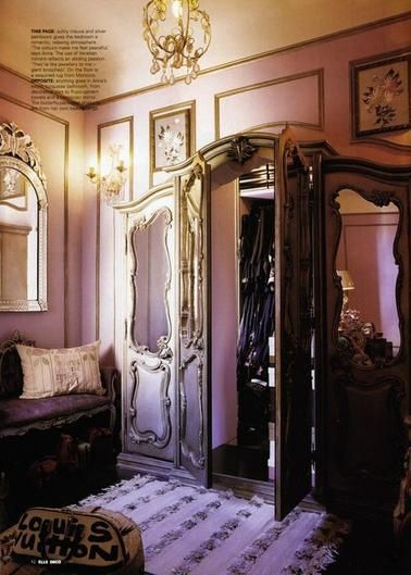Anna Sui's (Another Dream) Closet.