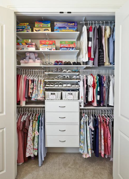 Contemporary Closet by Cincinnati Closet & Home Storage Designers Organized Living