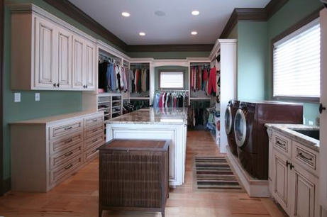Traditional Laundry Room by Charlotte Kitchen & Bath Designers Walker Woodworking