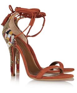 Etro Beaded Sandals, $1,100