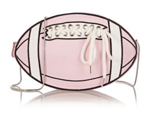 91.2 Rugby Girl faux leather shoulder bag, $300