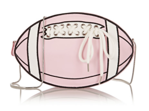 91.2 Rugby Girl faux leather shoulder bag, $300