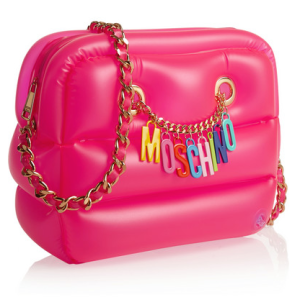 Moschino Inflatable PVC shoulder bag, $795