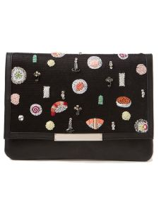 Lizzie Fortunato Jewels 'Port of Call Sushi' clutch, $475.00