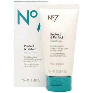 Boots No7 Protect & Perfect Intense Overnight Hand Treatment, $28, via Amazon