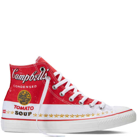Chuck Taylor All Star Andy Warhol, $70