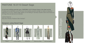 Desert Sage, one of Pantone's Fall 2015 colors