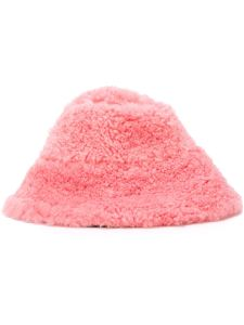 Ashley Williams shearling bucket hat, $545.37