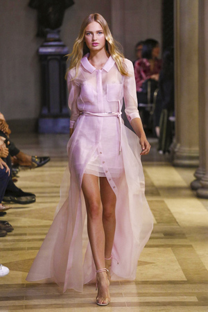 Carolina Herrera Fashion Show Ready to Wear Collection Spring Summer 2016 in New York