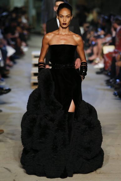 At first I thought this dress was the dress to make all other black fur dresses obsolete....