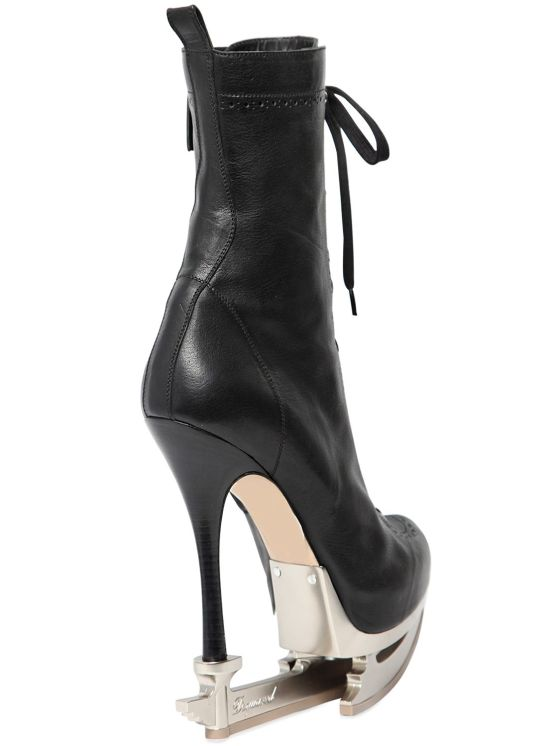 Dsquared2 Ice Skate Heel Ankle Boots