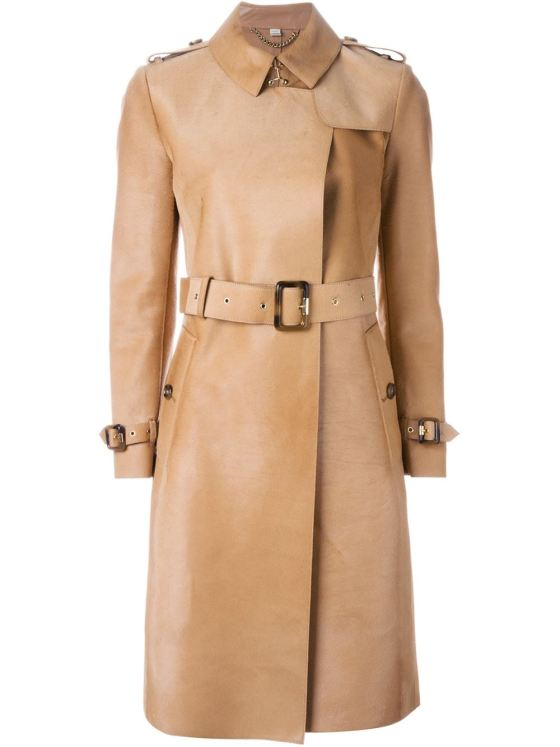 Burberry London fitted trench coat, $4,939.31
