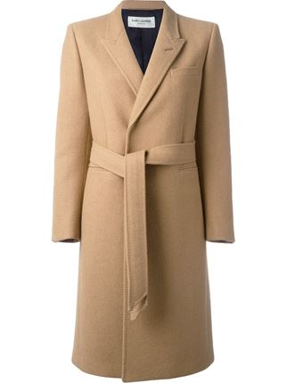 Saint Laurent belted trench coat, $5,990.00