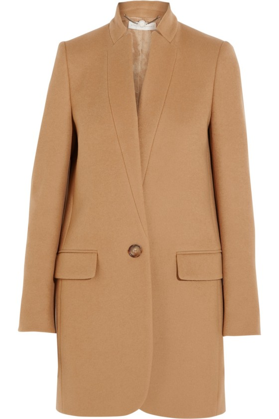 Stella McCartney Bryce wool-blend coat, $1,690