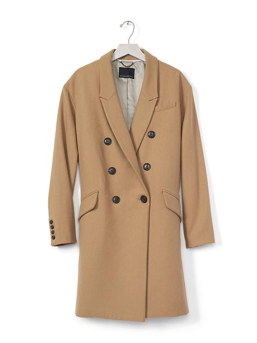 Banana Republic Camel Double Breasted Coat, $298